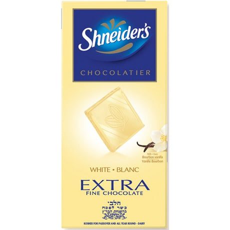Shneiders Fine White Chocolate 100G