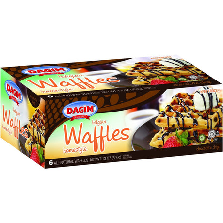 Dagim Belgian Waffles Chocolate Chip 390G