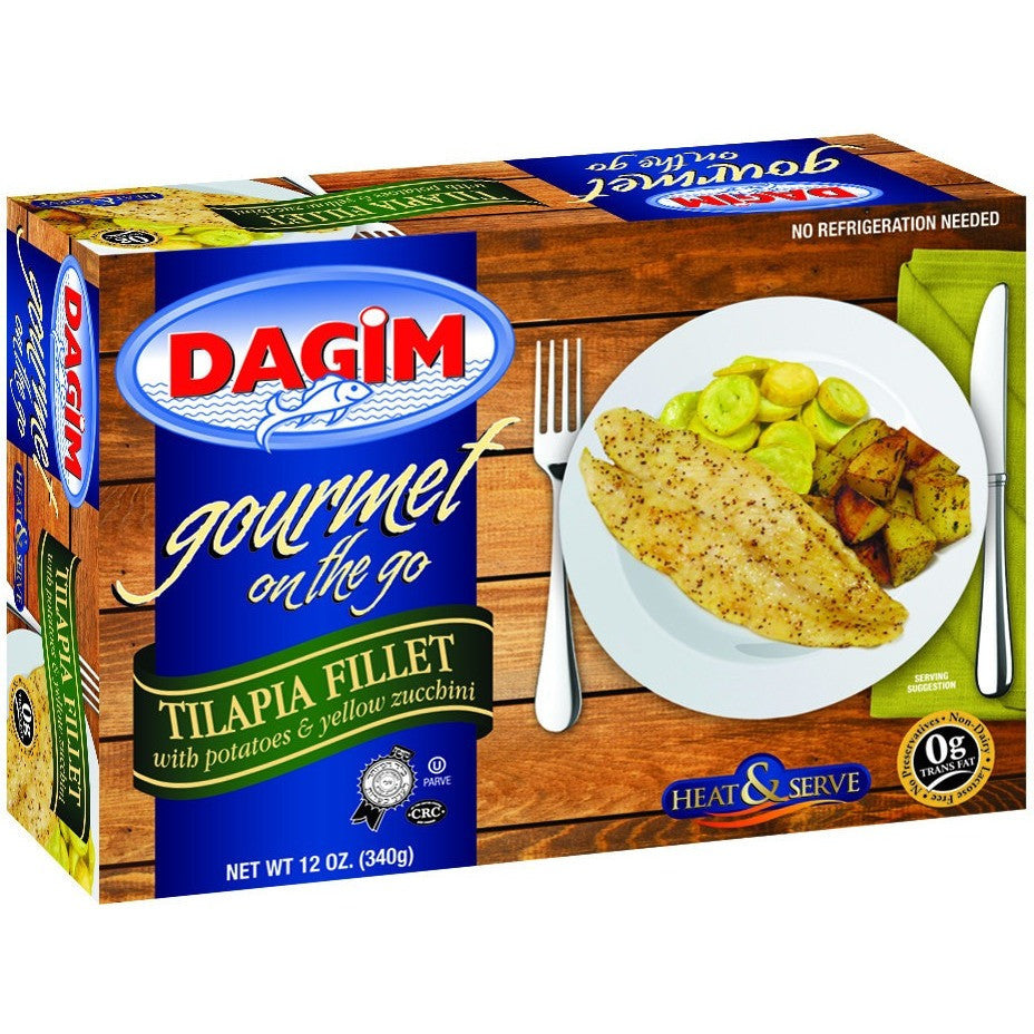 Dagim On The Go Tilapia Fillets With Potatoes & Zucchini 340G