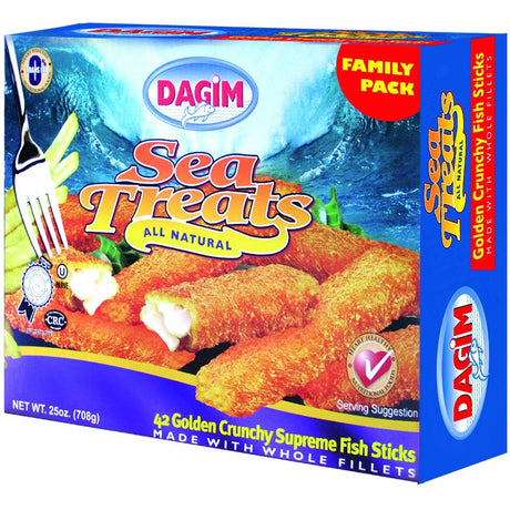 Dagim Crunchy Breaded Fish Sticks 708G