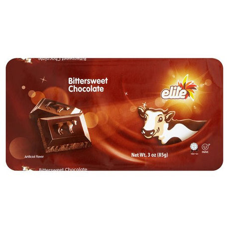 Elite Bitter Sweet Chocolate 85G