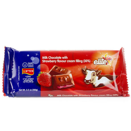 Elite Milk Chocolate With Strawberry Cream