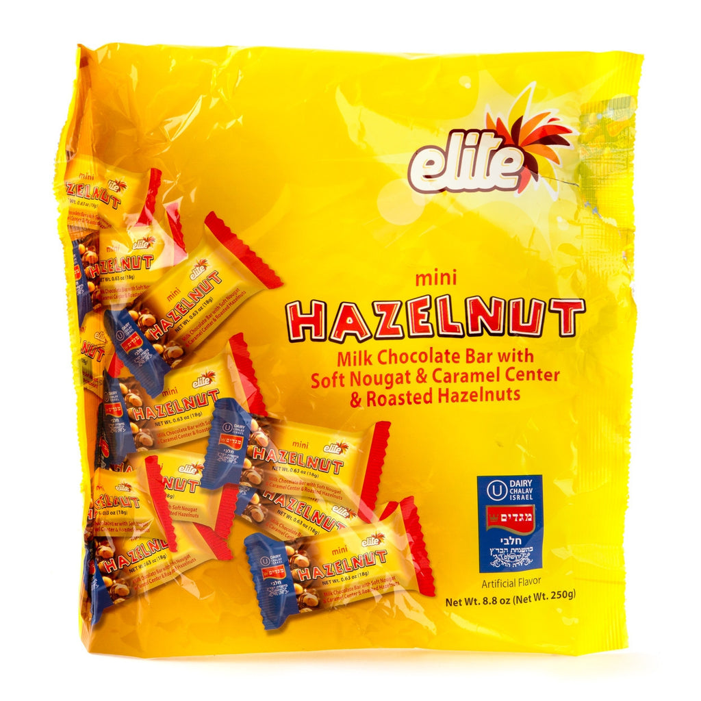 Elite Mini Hazelnut Bars 250G