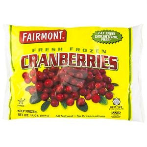 Fairmount Frozen Cranberries 396G
