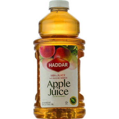 Haddar Apple Juice 1.8L Plastic