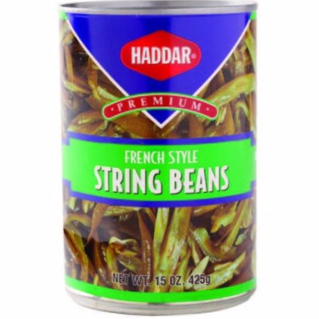 Haddar French Style Green Beans 425G
