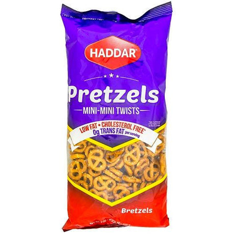 Haddar Mini-Mini Pretzel Twists 255G
