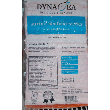 Dynasea Imitation Crab Sticks 1.13Kg