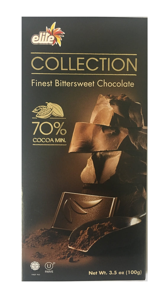 Elite Bitter Sweet Chocolate 70% Cocoa 100G
