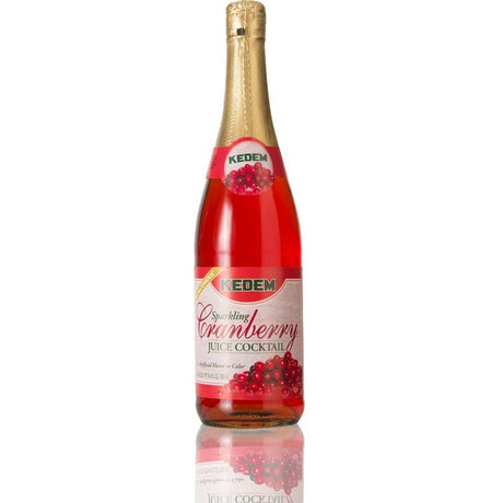Kedem Sparkling Cranberry Cocktail 750Ml