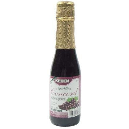 Kedem Concord Sparkling Grape Juice 187Ml