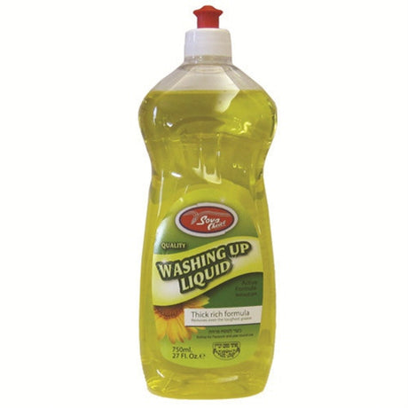 Sova Washing Up Liquid Yellow 750Ml