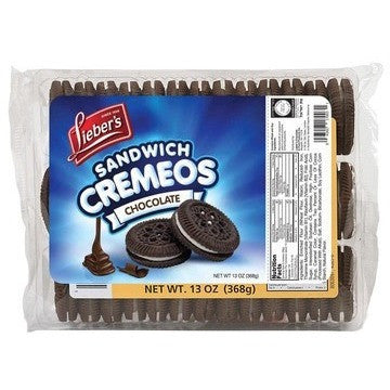 Liebers Chocolate Sandwich Cookies 368G