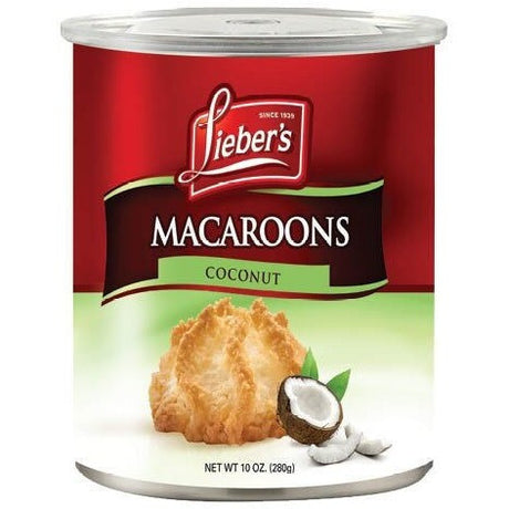 Liebers Macaroons Coconut Klp 280G