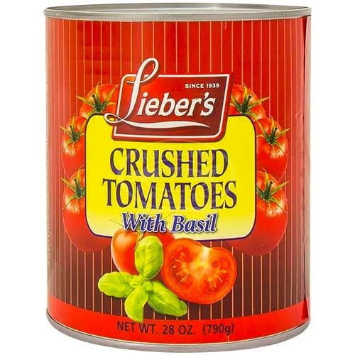 Liebers Tomatoes Crushed With Basil 790G
