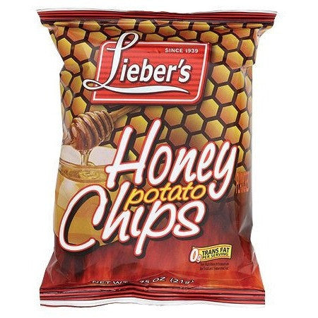Liebers Honey Potato Chips 21G
