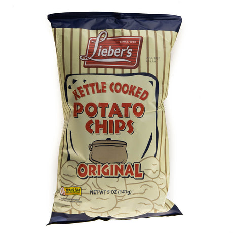 Liebers Kettle Chips Original 140G