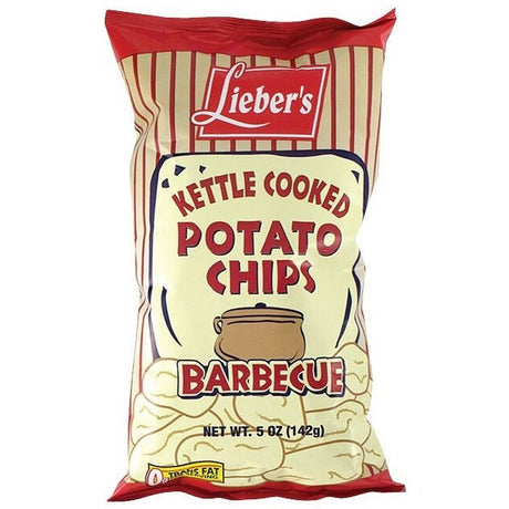 Liebers Kettle Chips BBQ 140G