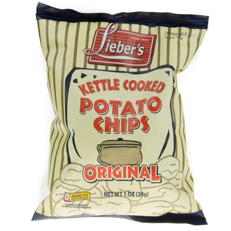 Liebers Kettle Chips Original 28G