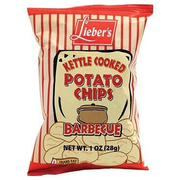 Liebers Kettle Chips BBQ 28G