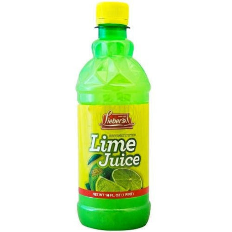 Liebers Lime Juice 473Ml