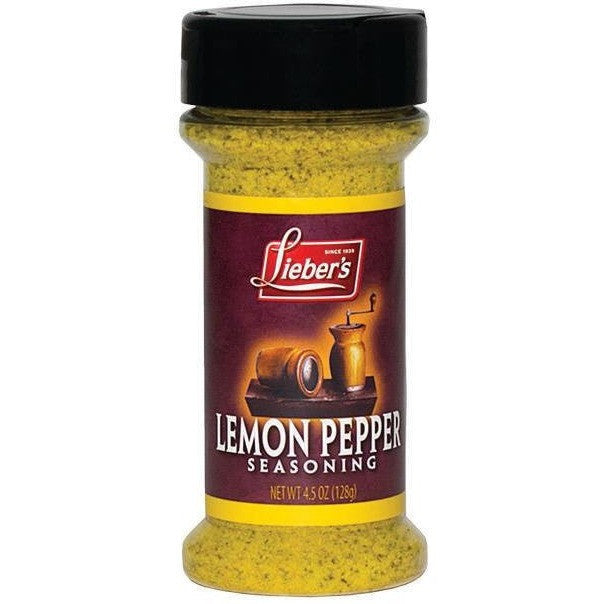 Liebers Lemon Pepper Seasoning 127G
