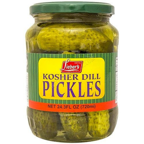 Liebers Dill Pickles 720Ml