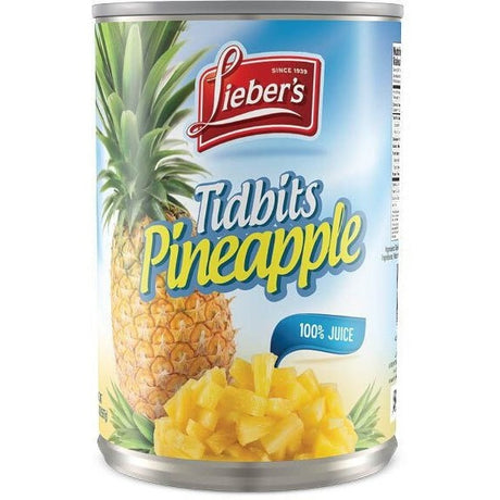 Liebers Pineapple Tidbits 565G