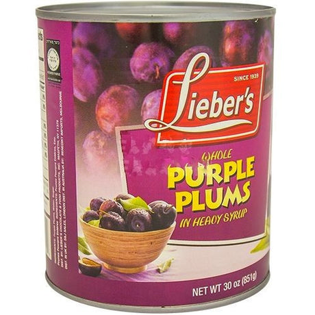Liebers Purple Plums 850G