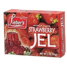 Liebers Jelly Strawberry 85G