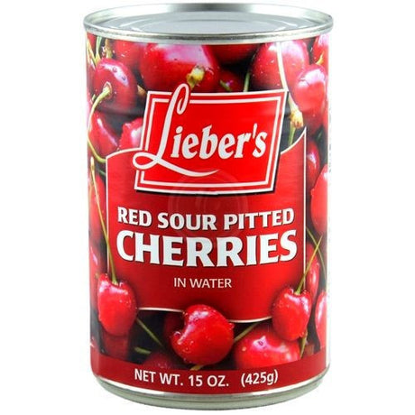 Liebers Sour Cherries Klp 425G