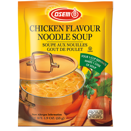 Osem Chicken Noodle Soup Pack 53G