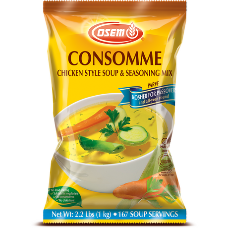 Osem Chicken Style Consomme Soup Mix Klp 1 Kg