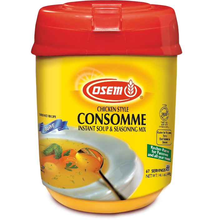 Osem Chicken Style Consomme Soup Mix Klp 400G