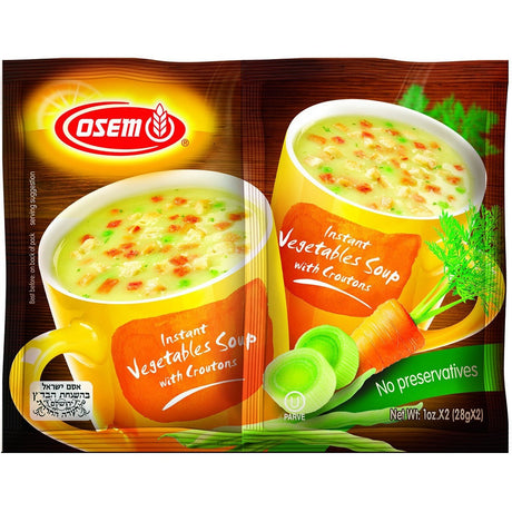 Osem Instant Vegetable Soup 2 X 28G