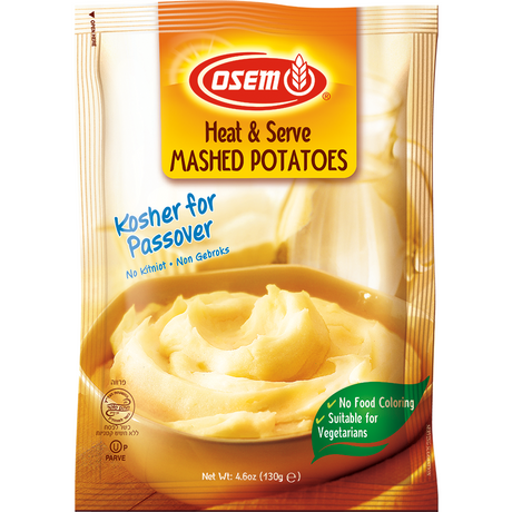Osem Heat & Serve Mashed Potatoes Klp 130G
