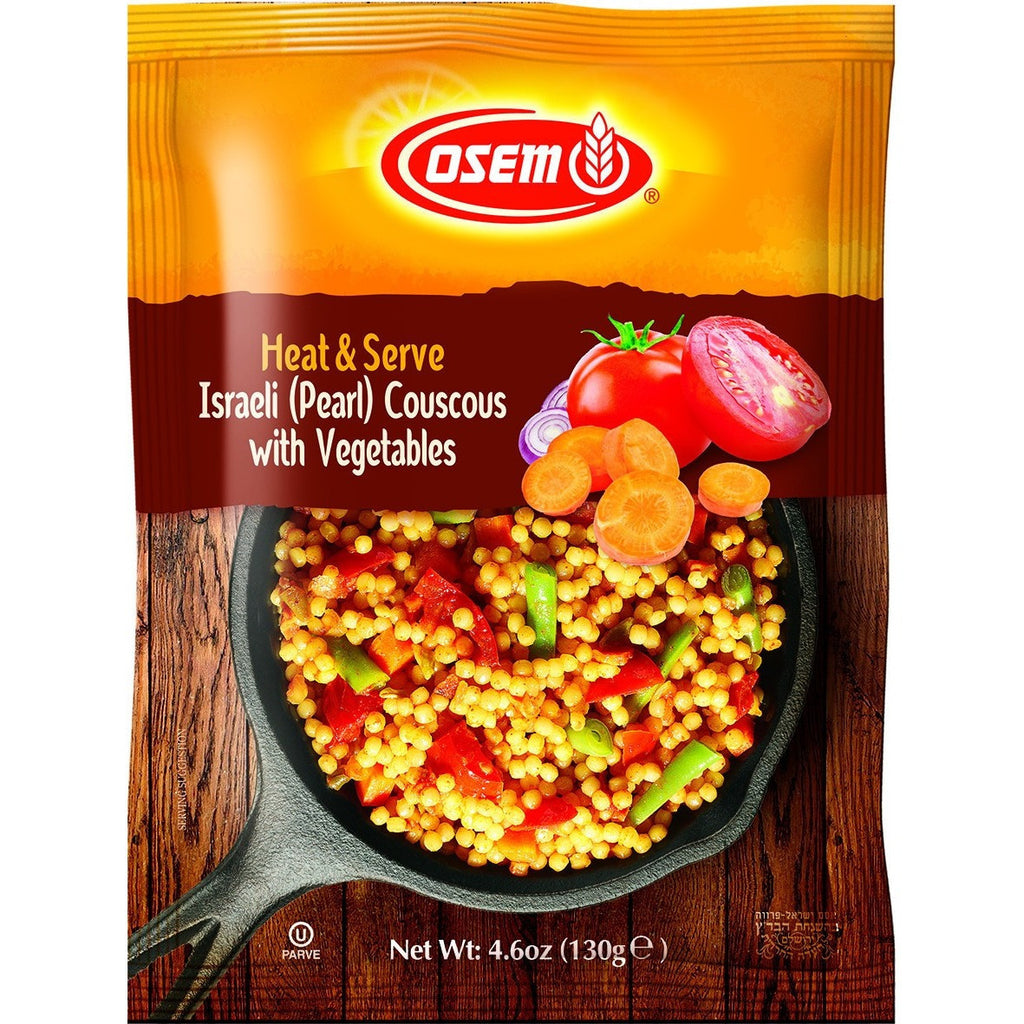 Osem Israeli Pearl Couscous With Vegetables 130G