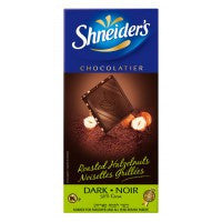 Shneiders Dark Chocolate Hazelnut 100G