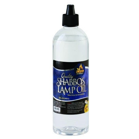 Ner Mitzvah Shabbos Lamp Parffin Oil Clear 945Ml