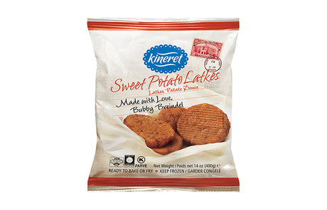 Kineret Sweet Potato Latkes 400G