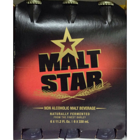Malt Star Non Alcoholic Beverage 6 X 330Ml