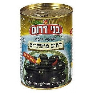 Bnei Darom Olives Black 560G
