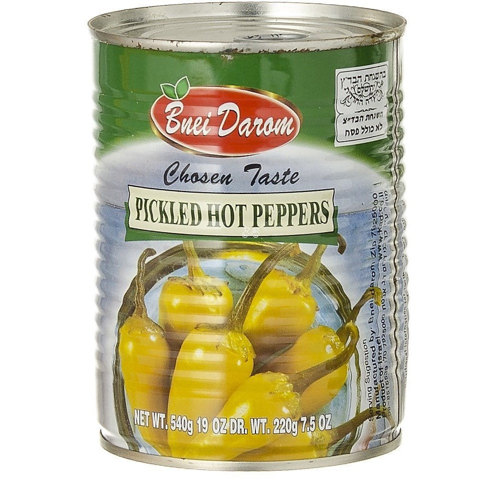 Bnei Darom Hot Peppers 540G
