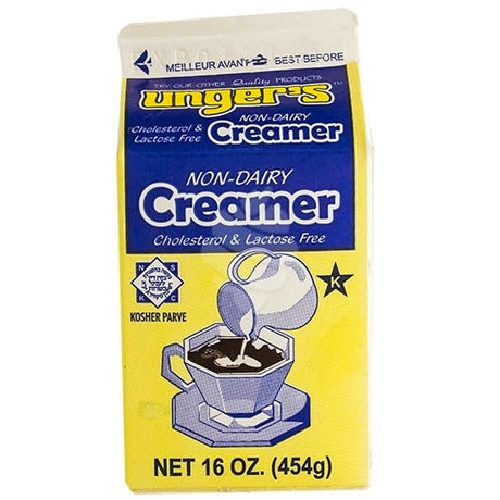 Ungers Coffee Creamer Parve 474Ml