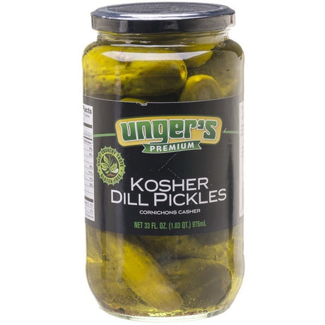 Ungers Original Dill Pickles 976Ml