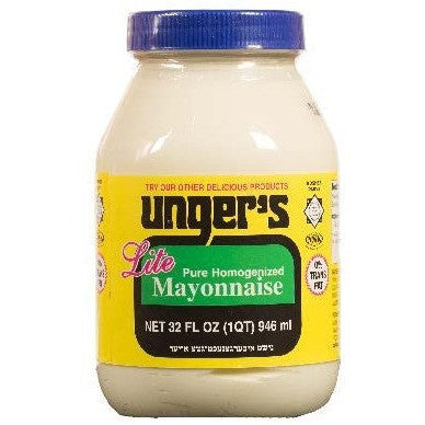 Ungers Mayonnaise Light 946Ml