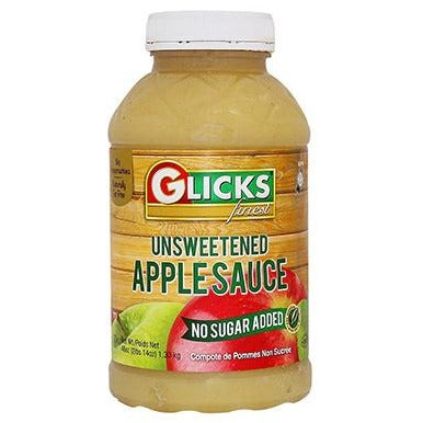 Glicks Apple Sauce Unsweetened 1.3Kg