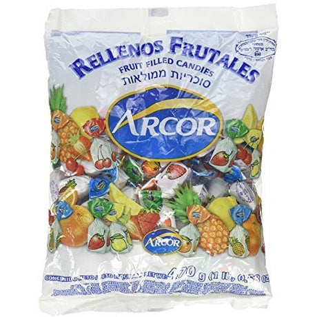 Arcor Assorted Fruit Filled Candies 470G