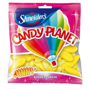Candy Planet Bananas 150G