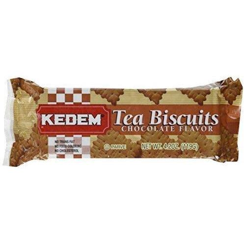 Kedem Tea Biscuits Chocolate 119G